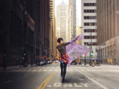 Городу нужна героиня