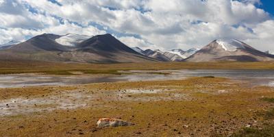 На высоте 4000 Киргизия ущелье горы