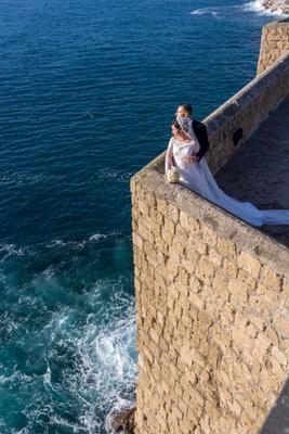 *** Италия Неаполь свадьба море