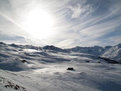 Солнечный пейзаж sun  bergen