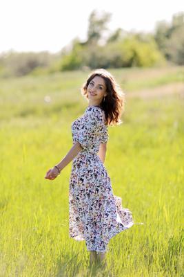 Ольга портрет девушка модель