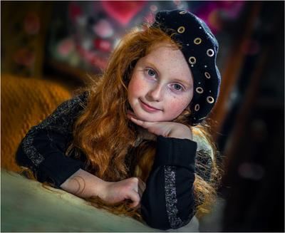***Девочка в 9 лет (из серии) Портрет77