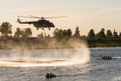Ми-17-1В вертолёт МИ-17-1В день города Даугавпилс