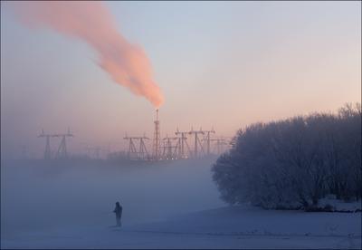 """Из серии """"Среда обитания"""". Рыбаки не сдаются в любой мороз"""