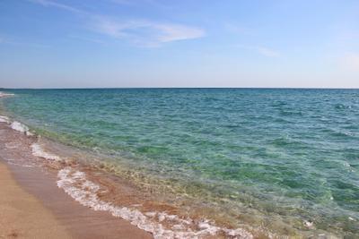 Крымские Мальдивы крым беляус море пляж коса