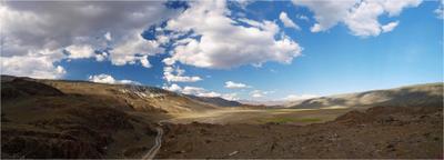 долина р. Чаган Алтай панорама Чаган Бельтир