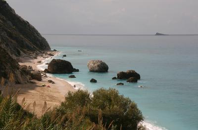 Lefkada Lefkada island Ionian sea Greece