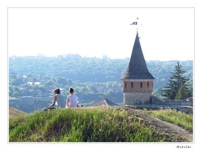 Взгляд на застывшее время Хмельницкий крепость замок Каменец-Подольский maksche