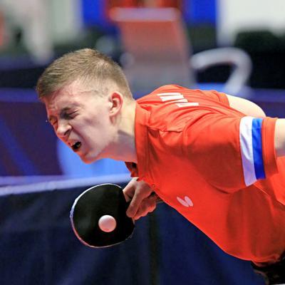 Артём Тихонов. настольный теннис пинг-понг спорт table tennis ping-pong sport