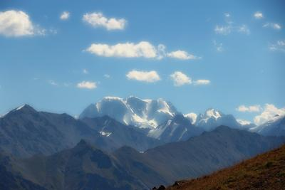Пик Талгар Пик Талгар горы Ала-Тау