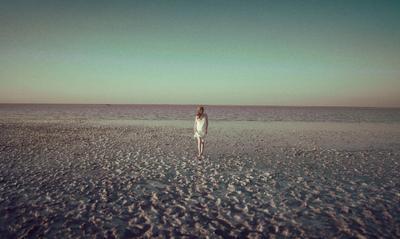 *** Озеро море розовое лето Крым сасык Сиваш Девушка