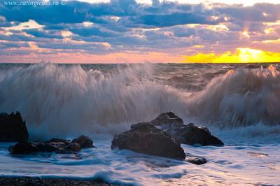 Море волнуется раз,... Крым, Черное море, сентябрь 2013