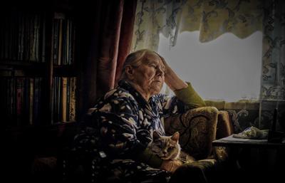 Одиночество.... Жизнь семья Родина деревня