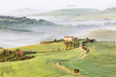 Val'D'Orcia Тоскана