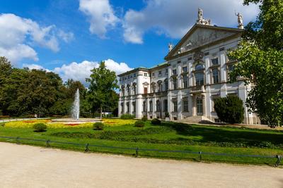 Дворец Красиньских, Варшава, Польша. Дворец Красиньских Варшава