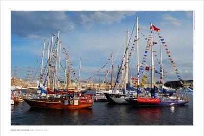 Tall Ship Race 2009 Baltic (продолжение серии) лодка нева питер яхта шхуна балтика небо паруса фрегата гонка