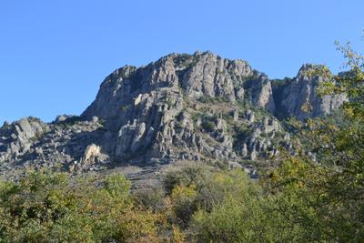 Долина Приведений, Крым.