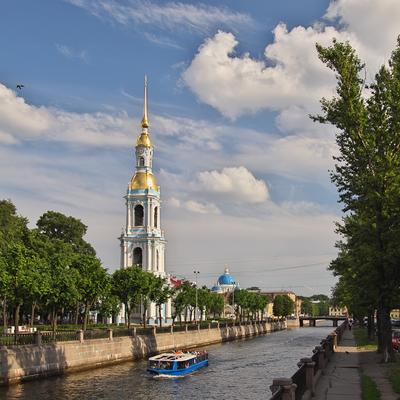 Колокольня на Крюков канале Санкт-Петербург Крюков_канал колокольня