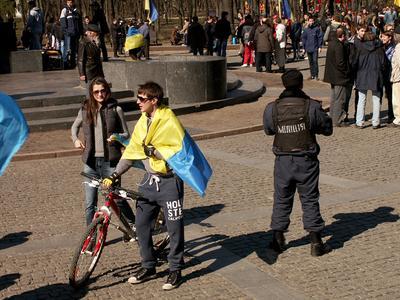 Харьковская весна Украина молодость