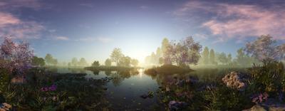 СфероПанорамное Озеро