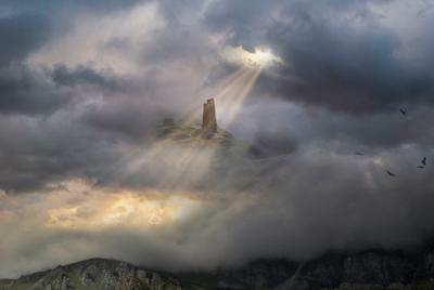 сторожевая башня, Осетия
