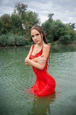 Анстасия девушка русая портрет