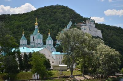 ***Святогорская лавра монастырь паломничество православие религия храм церковь