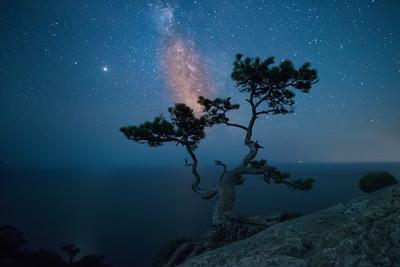 Night space.