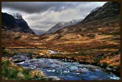 *Шотландский зимний пейзаж* фоторабота Фото.Сайт путешествие Великобритания природа зима пейзаж Lihgra Adventure