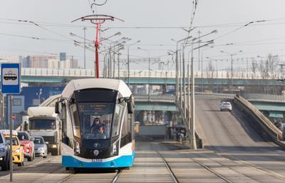 """71-931М """"Витязь-Москва"""" № 31358 Москва трамвай 71-931М Витязь-Москва ПКТС Московский_транспорт"""