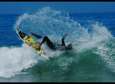 Падение  серфер падение сефринг surf surfing