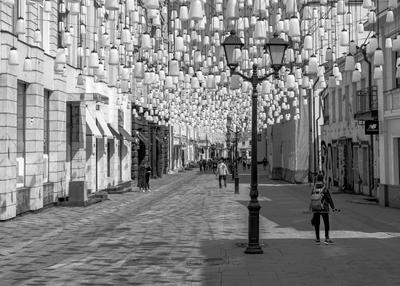 На улицах Москвы. Москва улица фонари kg58