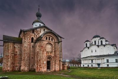 контраст Новгород Церковь Параскевы Пятницы на Торгу
