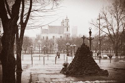 Lukiškės Square Vilnius Lithuania