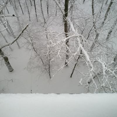 ***снегу навалило...:) Зима