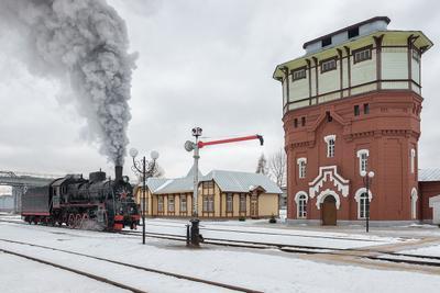 Депо Подмосковная. ржд паровоз железная дорога рельсы депо подмосковная Эр 774-38