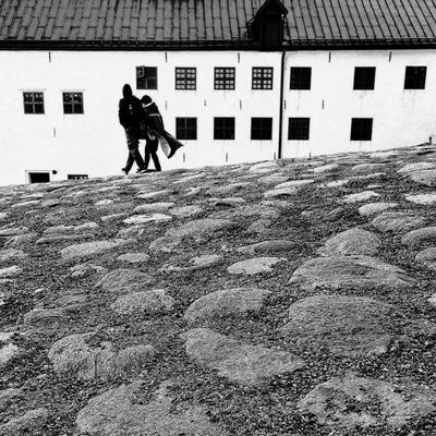 В старом замке замок Турку Або камни время