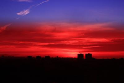 Закат Небо закат