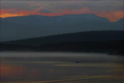 *Раннее утро на Имандре* фотография путешествие Кольский полуостров озеро осень Фото.Сайт Светлана Мамакина Lihgra Adventure