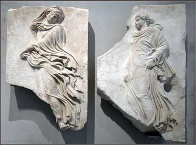 Древнегреческое... Греция Афины Новый музей Акрополя барельефы