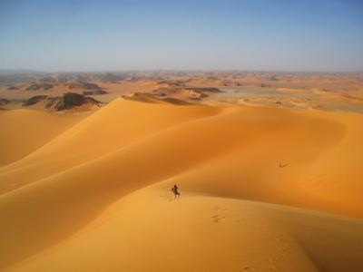 Восхождение. Алжир пейзаж скалы