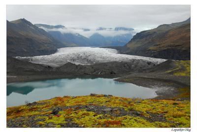 Ледник Vatnajokull Ледник Vatnajokull Исландия