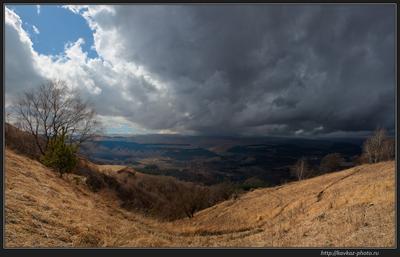 Идет непогода Кавказ Кисловодск непогода