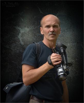 Портрет с видеокамерой портрет