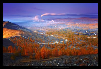 Осень в Мордоре карабаш южный урал осень