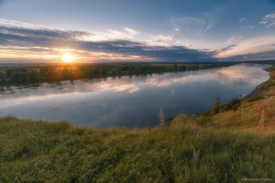 Май, на закате, Белая река #никитинбирск
