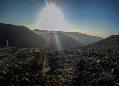 *** Хибины Горы Север Солнце Закат