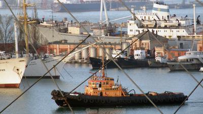 Акватория 0698 море порт буксир корабли