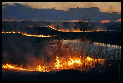 Во власти огня огонь, пожар