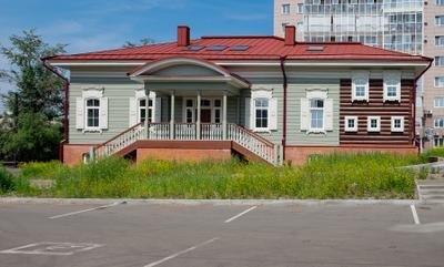 Иркутск. Усадьба купцов Замятиных, реконструкция